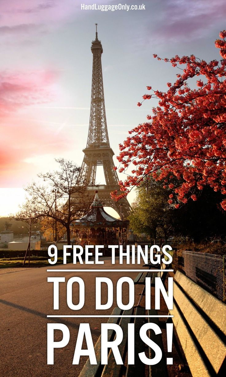 9 Free Things To Do In Paris! - Hand Luggage Only - Travel, Food & Photography Blog