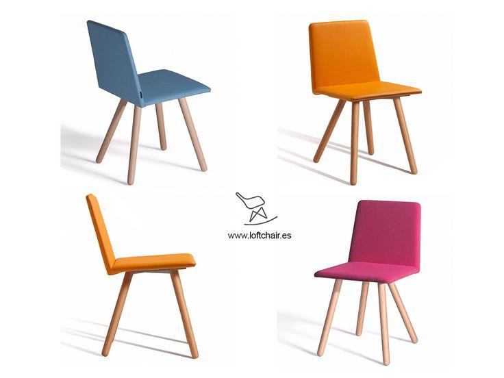 Mejores 21 im genes de sillas de comedor tapizadas en for Sillas comedor originales