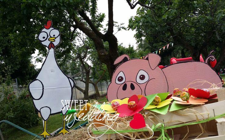 festa di compleanno sul tema fattoria, hay day, happy birthday, gadget regalo per tutti gli invitati :)