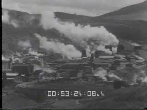 Volterra valdicecina: Soffione boracifero a Larderello 1932 - YouTube