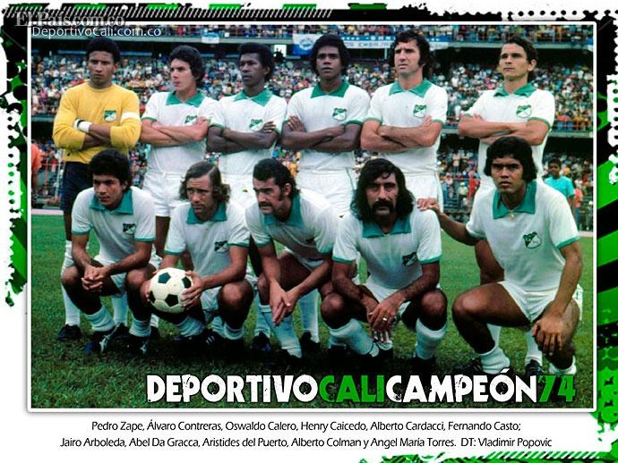 Deportivo Cali 100 Años - Campeon 1974