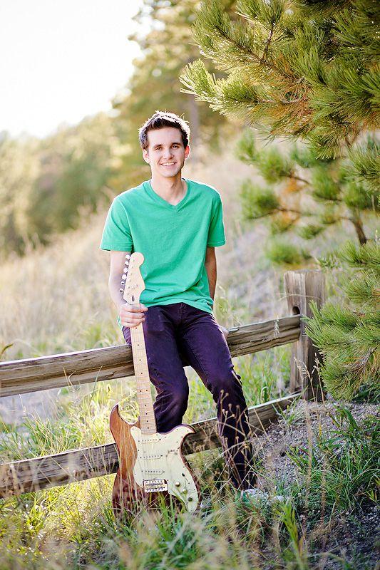 Senior Boy Guitar Photography  Boy Senior Portraits -5492