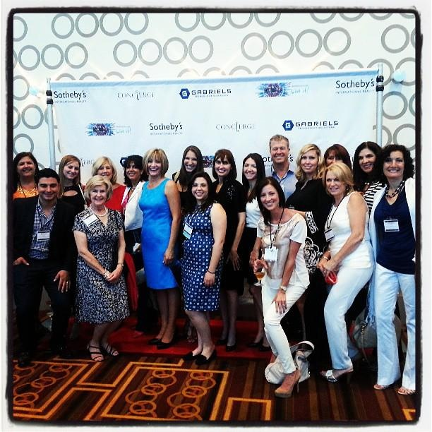 The whole #capitalcitysir and #kupersir team at #GNE2013 at JW Marriott LA Live.