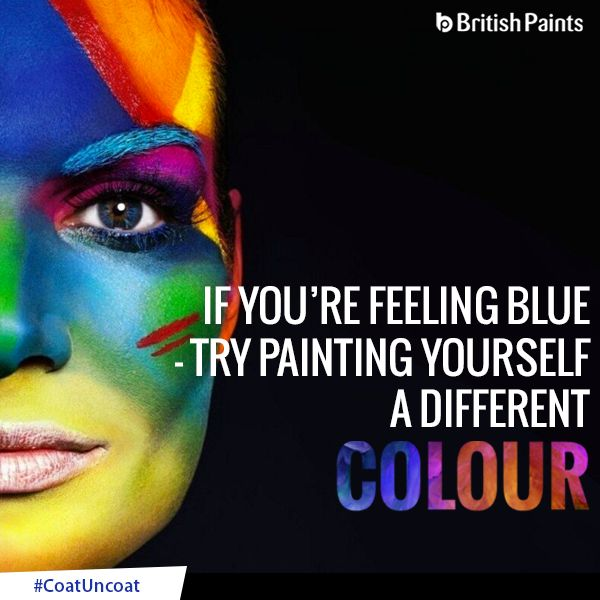 Colours play a major role in the overall state of well-being. The colours that surround us, directly influence the way we feel and relax. #CoatUncoat