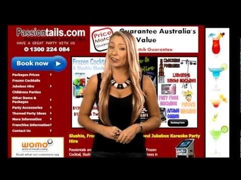 Passiontails - Frozen Cocktails, Daiquiri, Slushie Machine Hire - bellmedia.com