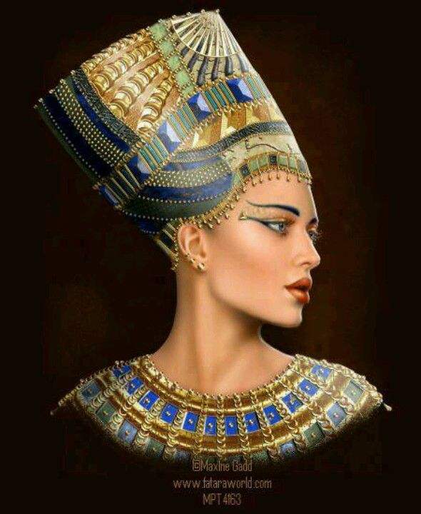 Beautiful goddess and inspiration Eye of Horus - http://www.eyeofhoruscosmetics.com/ Nefertiti