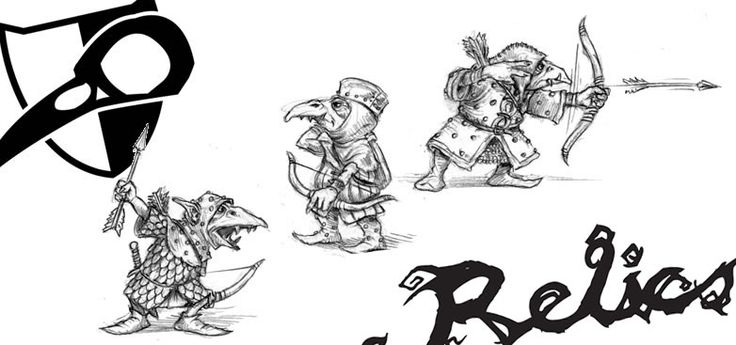 Ridend Archers Preview for Relics by Tor Gaming.