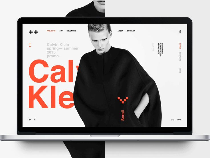 Inty++ Interactive installations and presentations studio.  Project page animation.  UI/UX — Alexander Laguta Don't forget to follow us on Behance  Thank you!