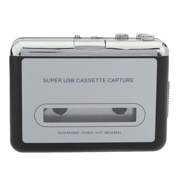 12V 10W usb cassettes stéréo capture cassette pour transducteur de mp3