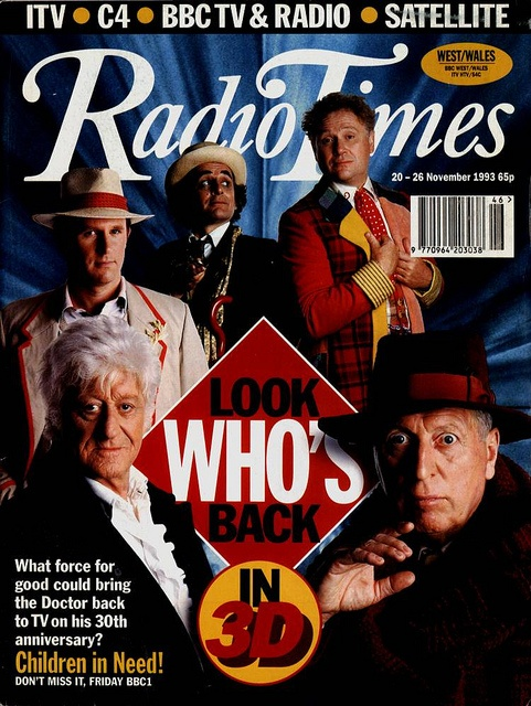 Radio Times Cover 1993-11-20 by combomphotos, via Flickr
