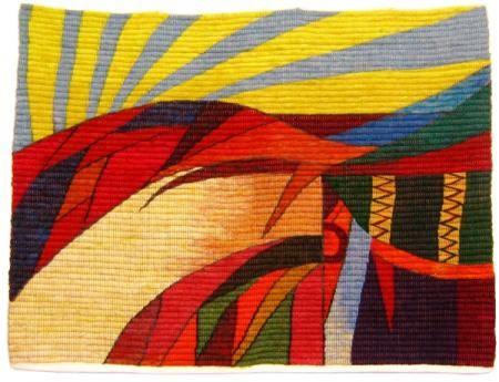 tapiz andino tapiz 90% lana de ovino,10% algodón tejido
