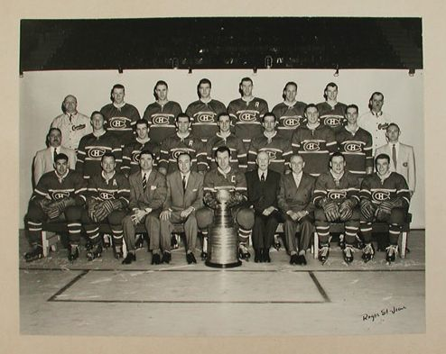 Montreal Canadiens - Stanley Cup Champions - 1956