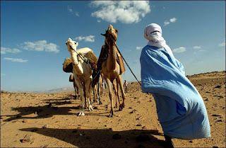 Sonhando, escrevendo e imaginando: Nómadas no deserto