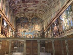 Learn about the Sistine Chapel in the Vatican with 3D Virtual Tour