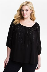 Classic black blouse. Love.