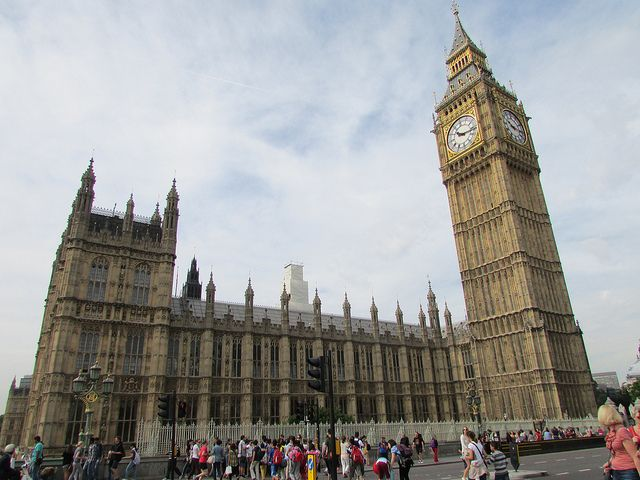 Houses of Parliament - Big Ben is a very famous and eye catching feature of London but when it is paired with the Houses of Parliament, it becomes even more of a tourist attraction. The amazing golden building is bursting with history. London wouldn't be the same without this great building.