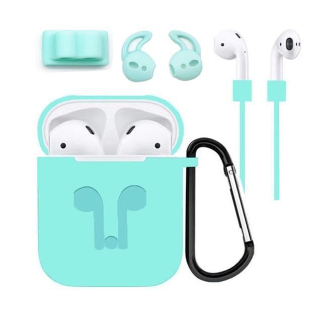 Earbuds Bluetooth Wireless Earphone Accessories Silicone Case Earbuds Kobe Kos Kool Store Silicone Cover Silicon Case Case Cover