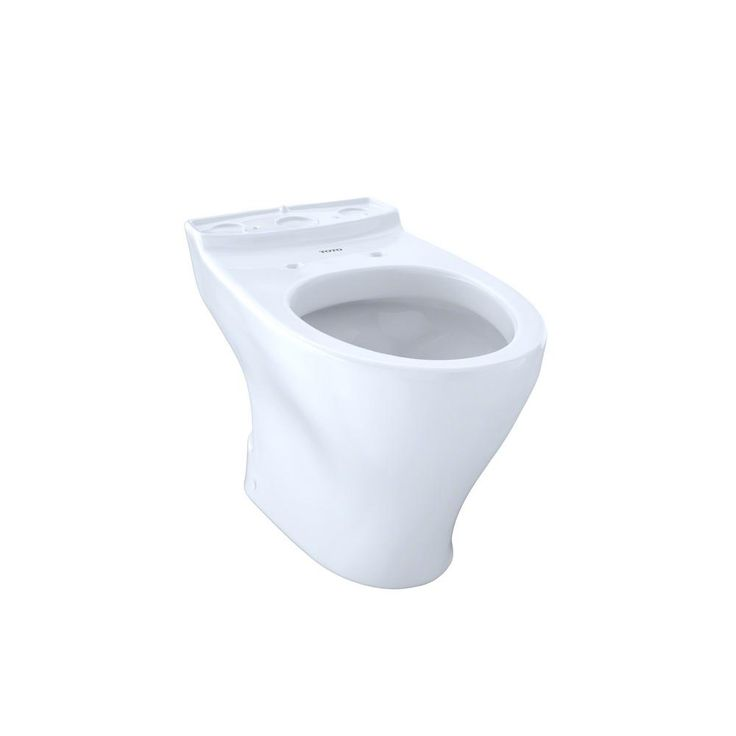 Toto Aquia Elongated Toilet Bowl Only with 10 in. Rough-In in Cotton White