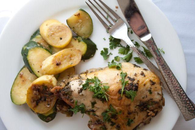 Pollo aromatizzato al rosmarino e salvia senza glutine