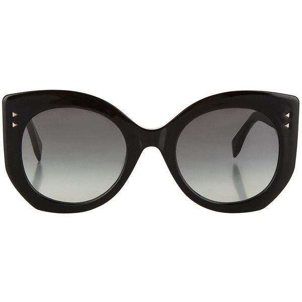ea77a91eee Fendi Peekaboo Sunglasses ( 355) ❤ liked on Polyvore featuring accessories