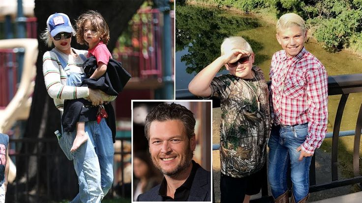 """Blake Shelton Girlfriend Gwen Stefani's Kids """"Kingston, Zuma Nesta & Apo..."""