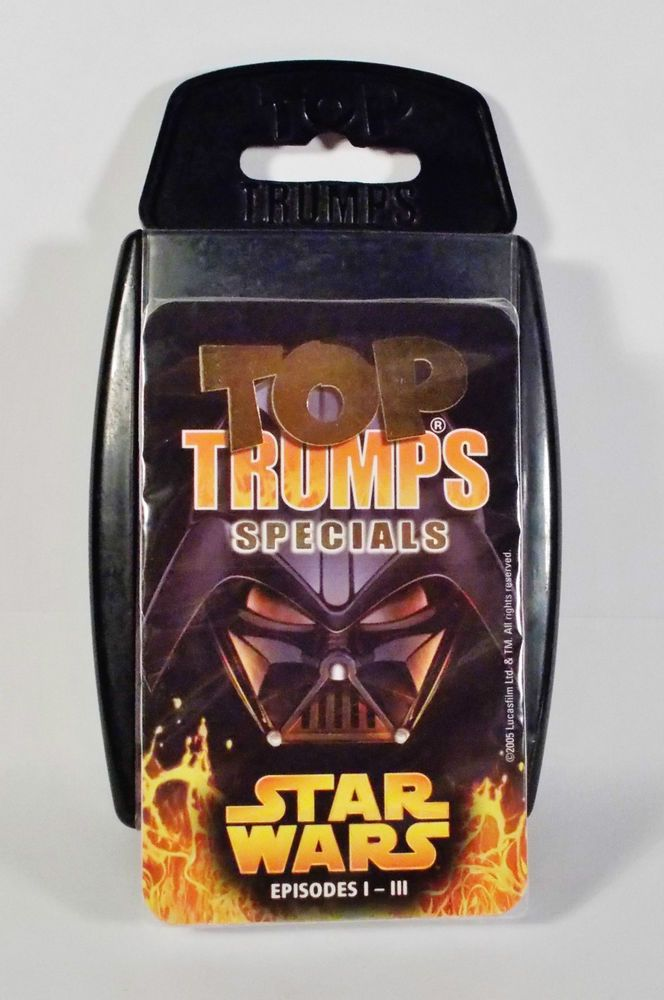 Top Trumps - Star Wars - Episodes 1 to 3 - New & Sealed - Winning Moves 2005