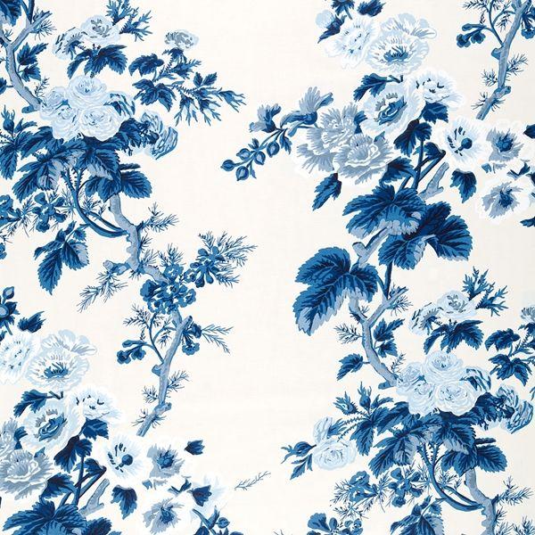 Pyne Hollyhock #textiles