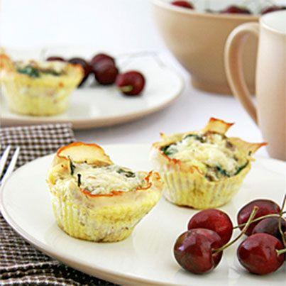 Italian-Style Baked Egg Cups | Gluten Free | Pinterest | Baked Egg ...