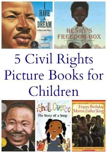 5 Civil Rights Picture Books for Elementary Students from The Jenny Evolution
