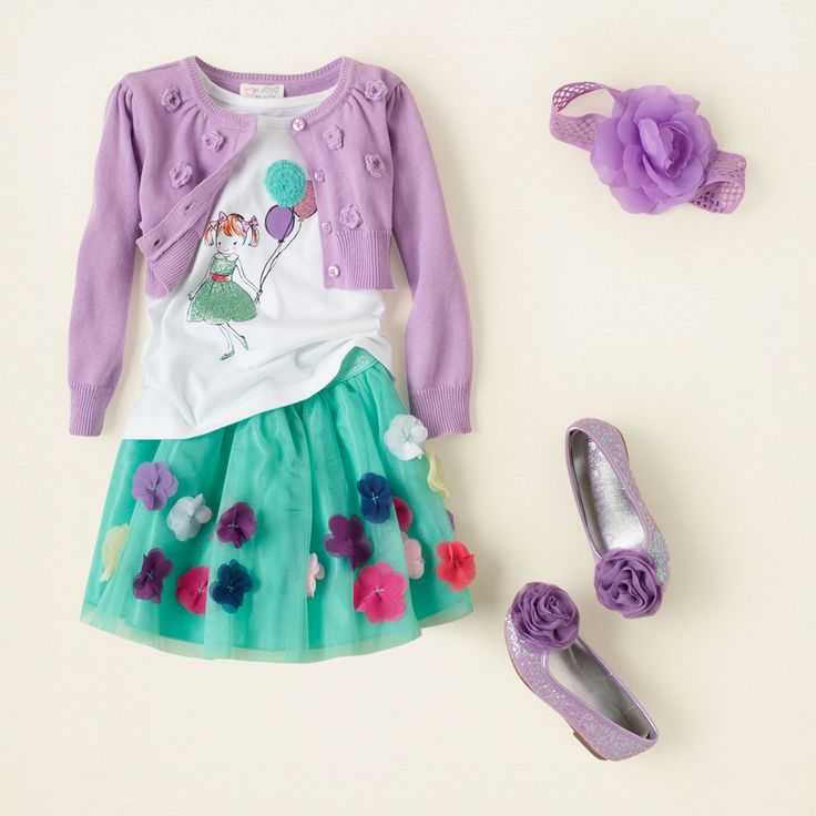 baby girl - outfits - sweet skirts - flower power | Children's Clothing | Kids Clothes | The Children's Place