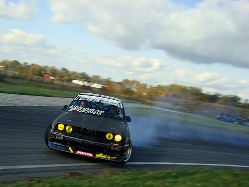 One of the greatest abilities of the E30 is that it is one of the easiest cars to drift in. It has such a snap like over steer that sometimes it is dangerous. This just makes the car even more appealing to me. It wants you to push it more and more and more and likes it when you do it. It really is an aggressive creature.