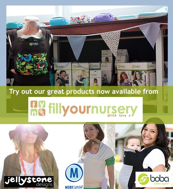This week's retailer spotlight is 'Fill Your Nursery' based in Oadby, Leicester, stocking a wide range of contemporary and traditional nursery products including Jellystone Jewellery.  Baby wearing brands include Boba (4G, Wrap, Air & Accessories) in addition to Moby. With no less than 4 trained baby wearing peer supporters, you can always be confident you're receiving excellent guidance   http://www.fill-your-nursery.com/