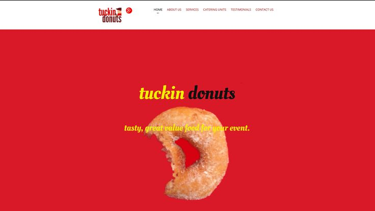 tuckin donuts - the leading event and festival catering supplier in the area.