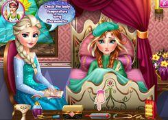 Juegos Anna.com > Juego: Jugar Gripa Princesa Anna - Minijuegos de la Princesa Anna, Princesas Disney Latino en Español Juegos de vestir, maquillar, spa, manicura, pedicura, masajes.
