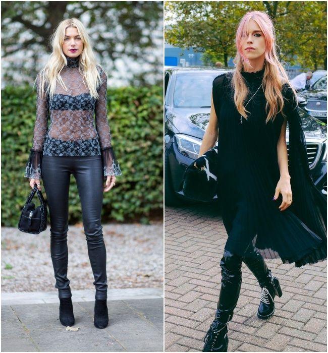 Street style e as tendências fashion: estilo rocker