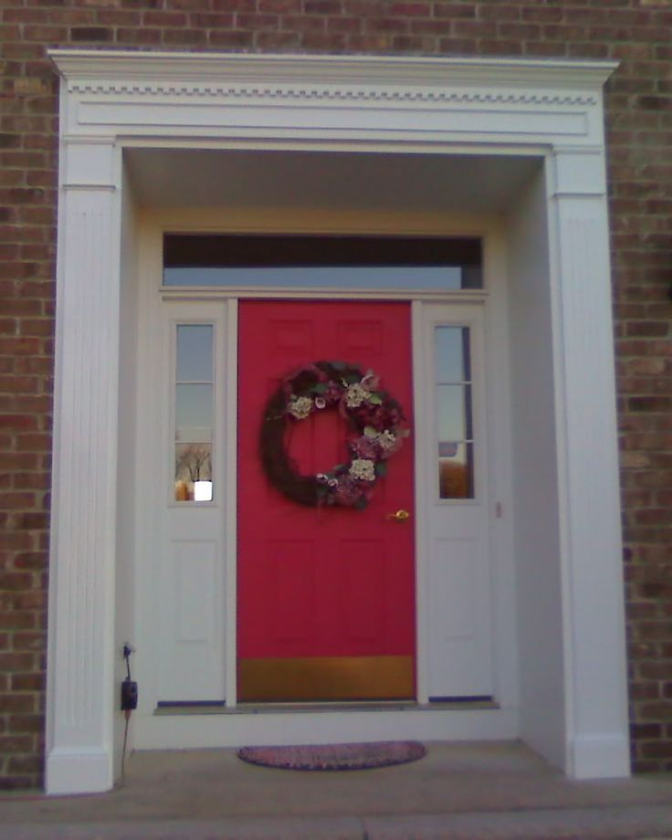 111 best images about bi level updates on pinterest for Front door design with window