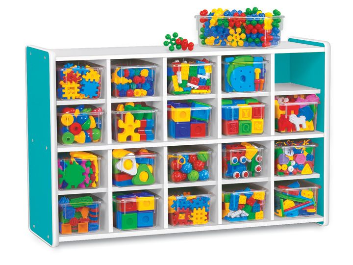 $479.00 Lakeshore Kids Colors™ 20 Cubby Unit
