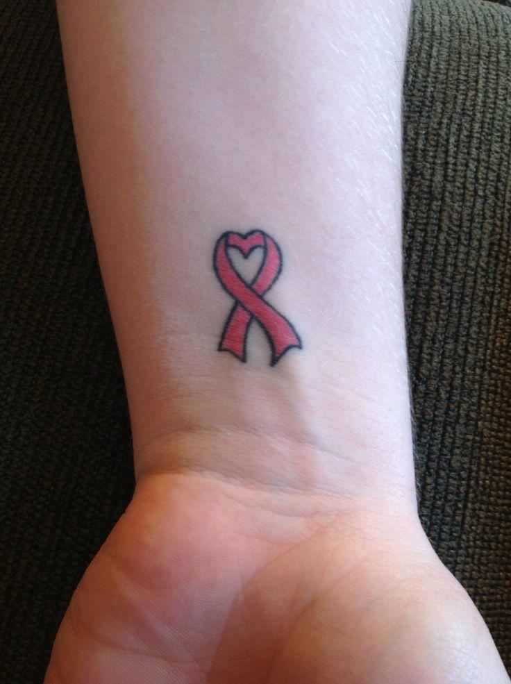 Breast Cancer Tattoo on Wrist