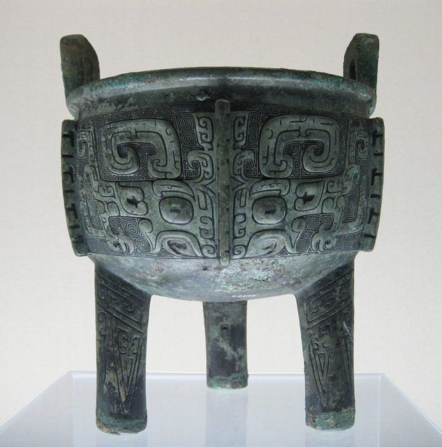 Unearthed in a tomb chamber near the Chinese city of Xinyang was a large clay pot.  Inside this pot were bones that have been analyzed as the forelegs of a