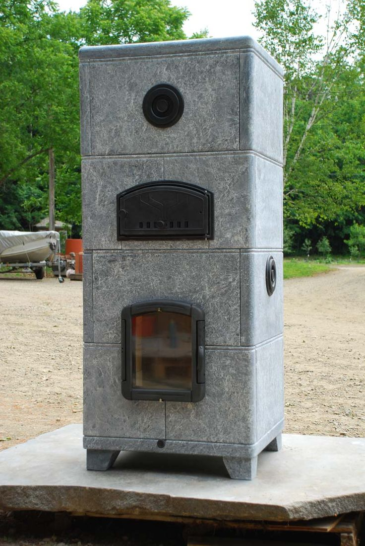 Freestanding Soapstone Fireplace Photos & Projects | Maine Wood Heat Co.  $10k plus $2.5 - 57 Best Images About Maine Wood Heat Co. On Pinterest Stainless
