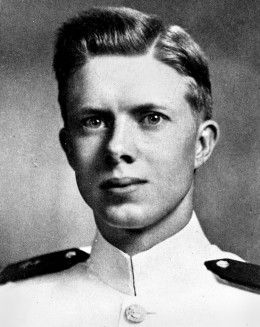 Jimmy Carter as a young naval officer