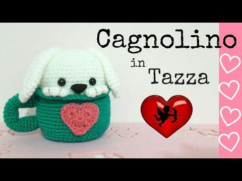 Tazza cappuccino amigurumi - YouTube