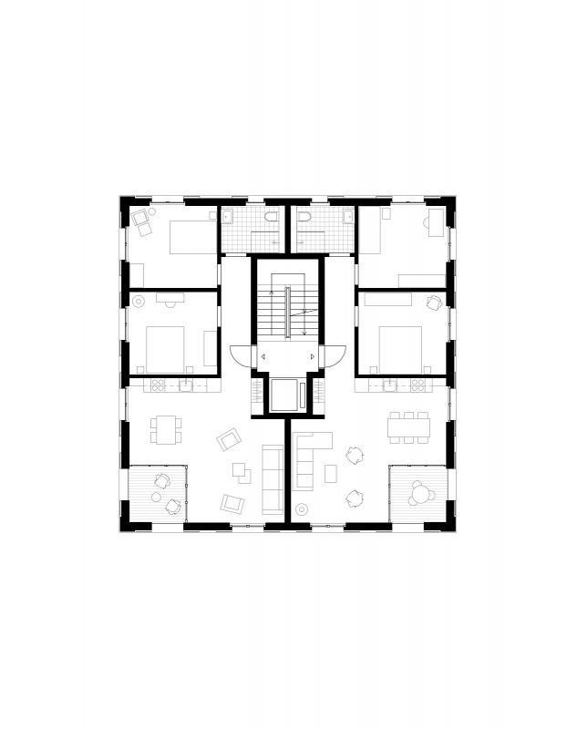die besten 25 wohnungsgrundrisse ideen auf pinterest studio apartment grundrisse 3d haus. Black Bedroom Furniture Sets. Home Design Ideas