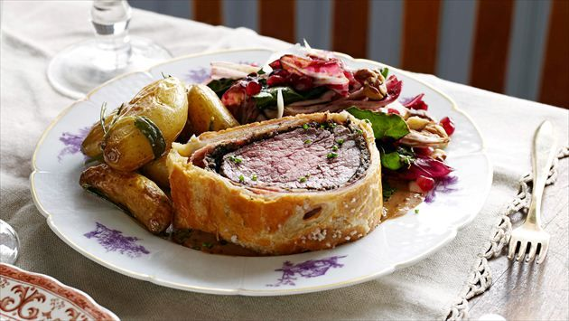 Get this all-star, easy-to-follow The Ultimate Beef Wellington recipe from Tyler Florence