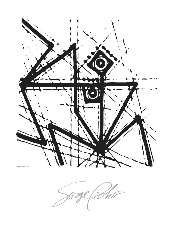 Serge Pichii   Drawings: Ants I