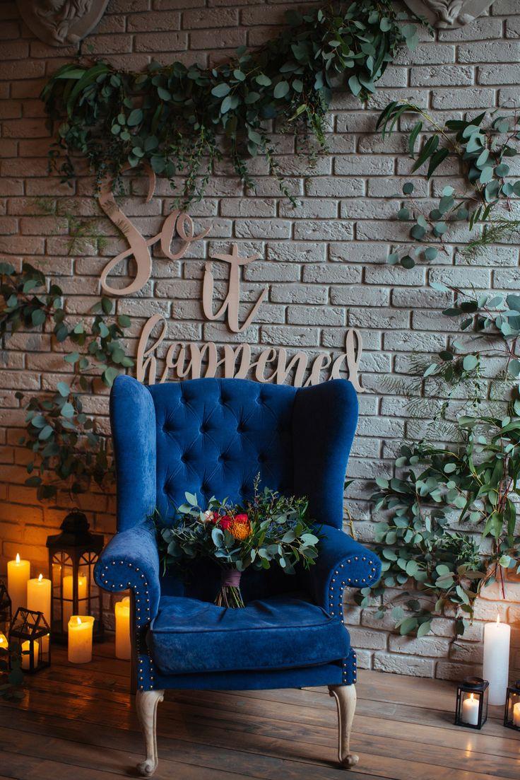 wedding, wedding flowers, bridal bouquet, botaniс style, букет невесты, свадебная флористика, цветочное оформление, цветочные композиции на свадьбу, свадебные цветы, ботаника, свечи, кресло, декор на свадьбу, свадебная флористика