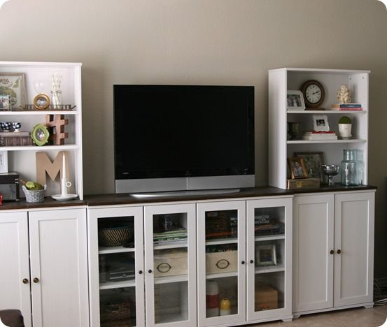 White Entertainment Center Ikea The