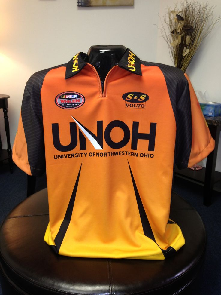 Custom Sublimated Racing Pit Crew Shirt for UNOH by www ...