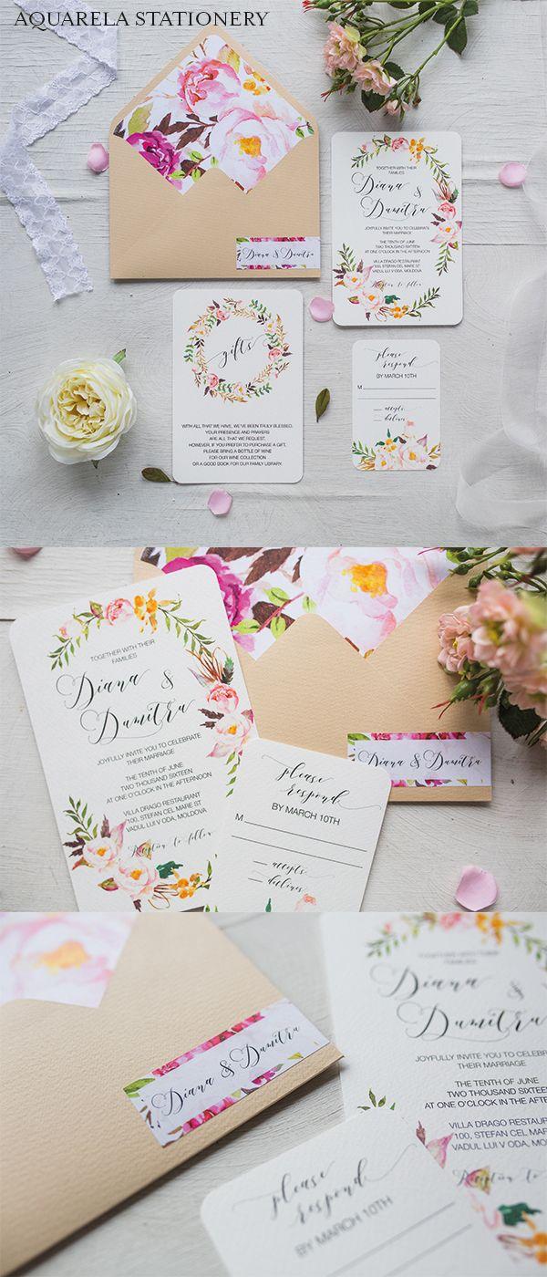 wedding invitation mint green%0A Boho Wedding Invitation  Watercolor Wedding Invitations  Water Color  Wedding Invitations  Floral Wedding Invites