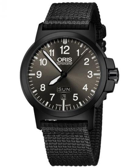 オリス BC3 アドバンスド デイデイト 735 7641 4733F (テキスタイル/ブラック) 腕時計 メンズ 自動巻 Oris BC3 Advanced, Day Date - IDEAL